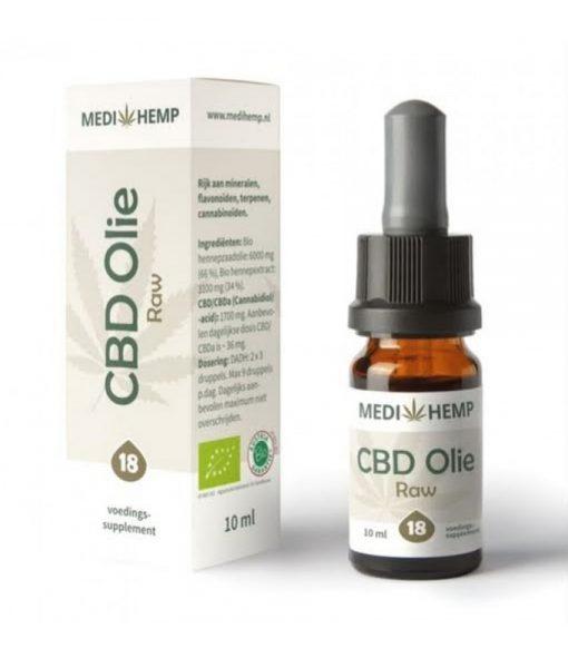 Medihemp-CBD-olie-Raw-18-procent-10ml